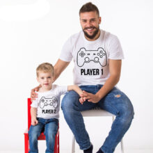 Family Matching Outfits T-Shirts For Father And Son