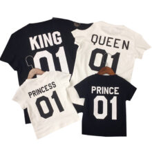 Family Matching Cotton T-Shirts Outfits