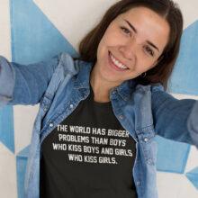 Women's Anti-Discrimination Printed T-Shirt
